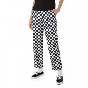 Kalhoty Vans AUTHENTIC CHINO PRINT CHECKERBOARD