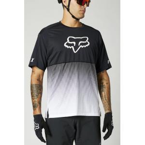Pánský cyklodres Fox Flexair Ss Jersey Black/White