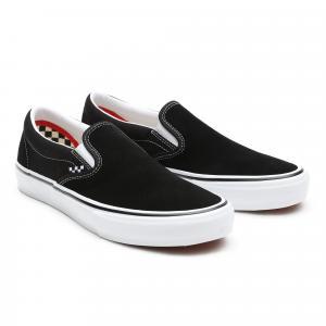 Boty Vans Skate Slip-On Black/White