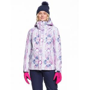 Zimní bunda Roxy JETTY JK MEDIEVAL BLUE LABYRINTH