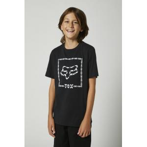 Tričko Fox Youth Timed Out Ss Tee Black