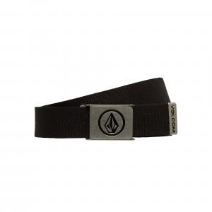 Pásek Volcom Circle Web Belt Black