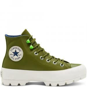 Boty Converse CHUCK TAYLOR ALL STAR LUGGED WINTER DARK MOSS/NAVY/EGRET