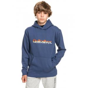 Mikina Quiksilver PRIMARY COLORS HOOD YOUTH BLUE INDIGO
