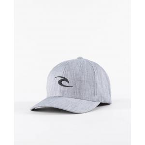 Kšiltovka Rip Curl TEPAN WELD FLEXFIT CAP  Light Grey