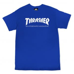Tričko Thrasher Skate Mag Royal Blue