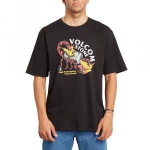 Tričko Volcom Scorps Rlx Ss Black