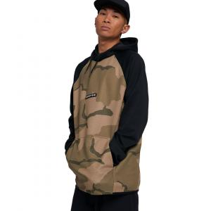 Mikina Burton Crown Weatherproof Pullover Fleece Barren Camo/True Black
