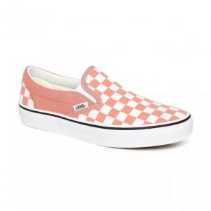 Boty Vans Classic Slip-On CHECKERBOARD ROSE DAWN/TRUE WHITE
