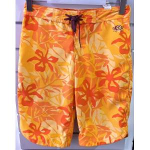 Plavky Rip Curl P-CAMO VEGETAL BOARDSHORT BLAZING Orange