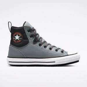 Boty Converse CHUCK TAYLOR ALL STAR BERKSHIRE LEATHER BOOT Manson/Black/White