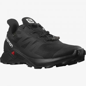 Běžecké boty Salomon SUPERCROSS 3 GTX Black/Black/Black