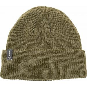Čepice Fox Machinist Beanie Olive Green