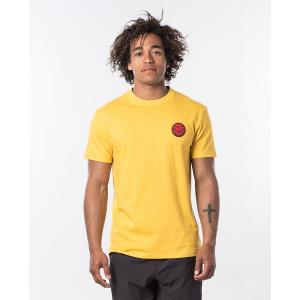 Tričko Rip Curl PASSAGE TEE  Washed Yellow