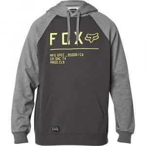 Mikina Fox Non Stop Raglan Po Fleece Smoky