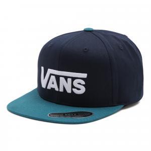 Kšiltovka Vans DROP V II SNAPBACK BOYS DRESS BLUES/BLUE CORAL