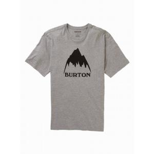 Tričko Burton CLASSIC MTN HGH SS GRAY HEATHER