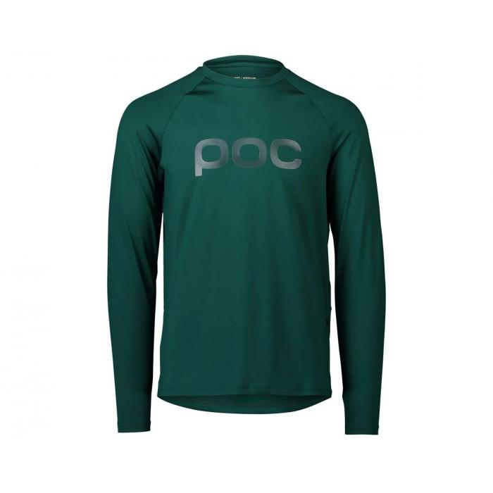 Pánský cyklodres POC Reform Enduro Jersey Moldanite Green