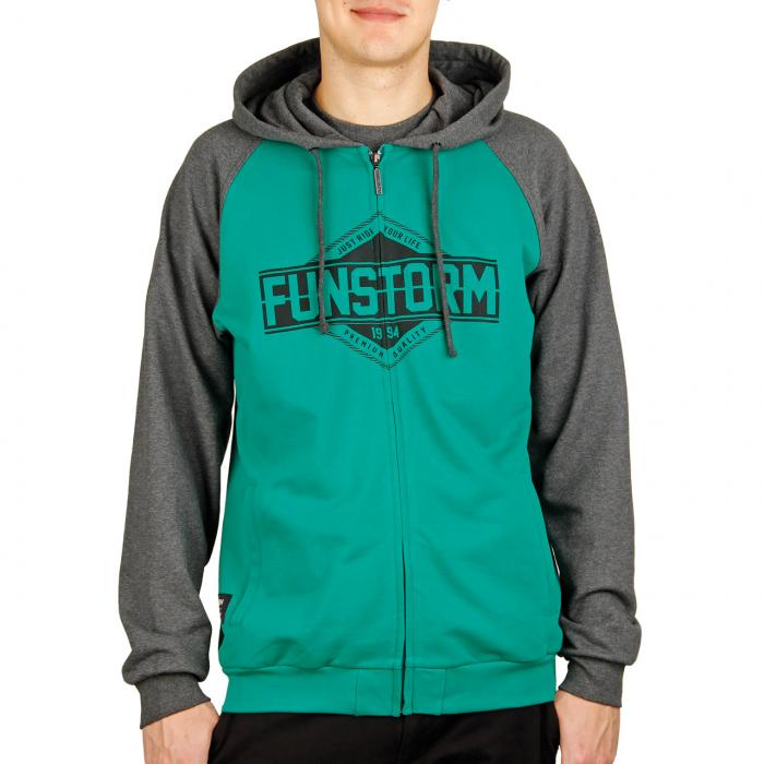 Mikina Funstorm Denoco green
