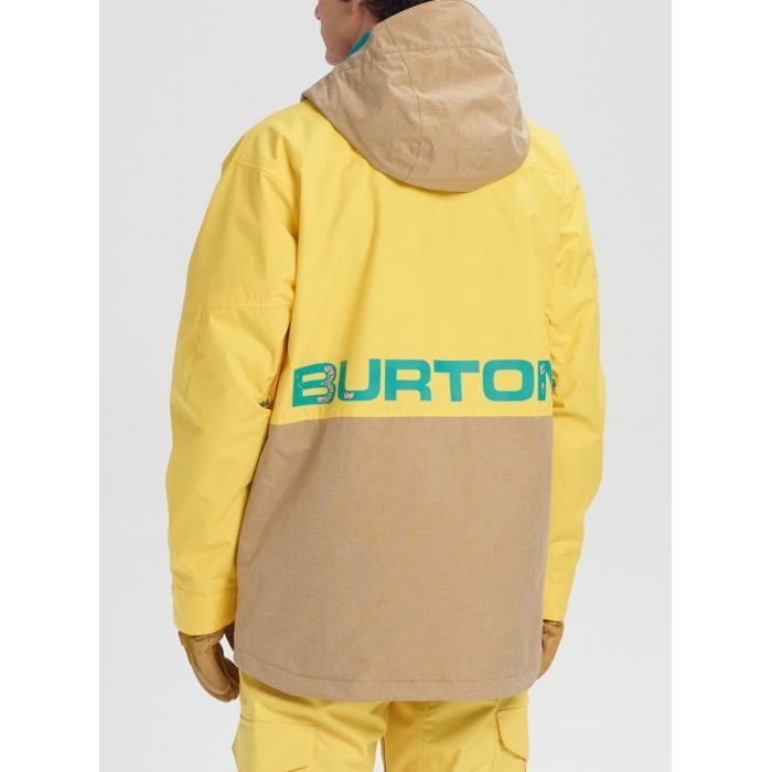 Zimní bunda Burton HILLTOP JK MAIZE/KELP