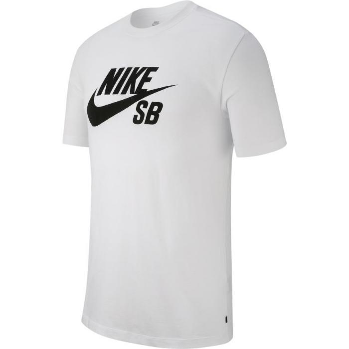 Tričko Nike SB DRY TEE DFCT LOGO white/black