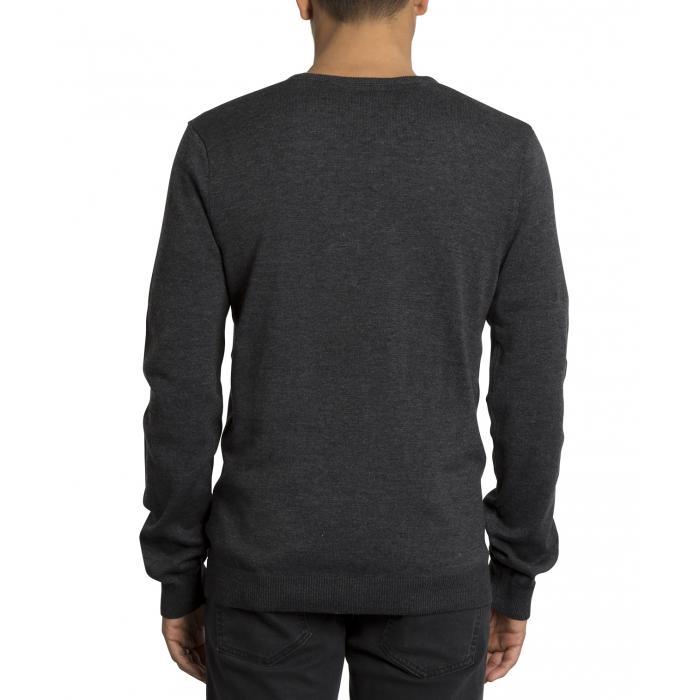 Pánský svetr Volcom Uperstand Sweater  Black