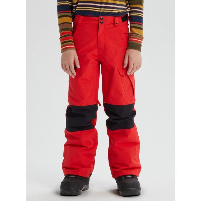 Snowboardové kalhoty Burton EXILE CARGO PT FLAME SCARLET