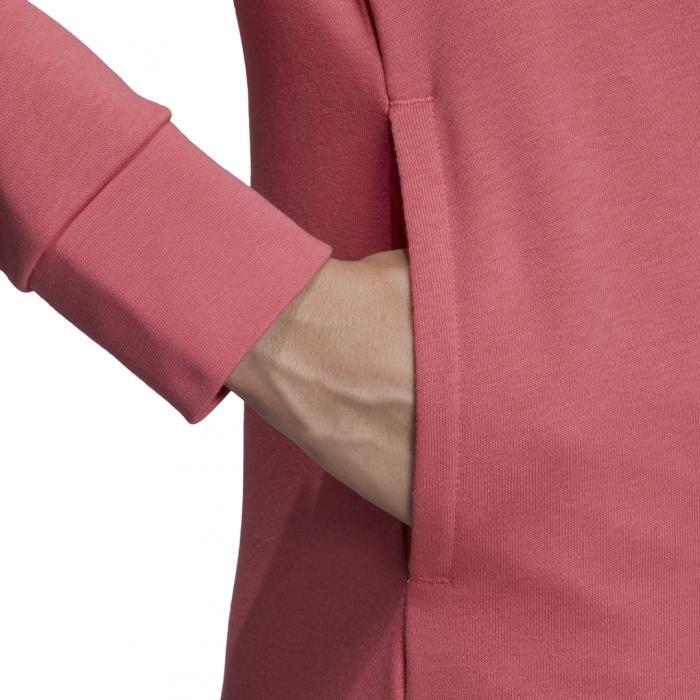 Mikina Adidas W E LIN OH HD BLIPNK/WHITE