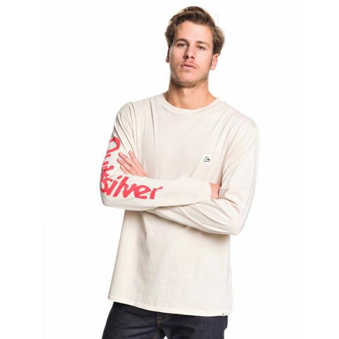 Tričko Quiksilver IN THE MIDDLE LS BRAZILIAN SAND