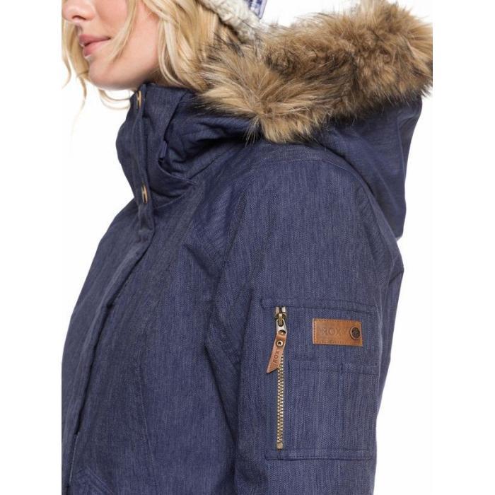 Zimní bunda Roxy MEADE DENIM JK MID DENIM