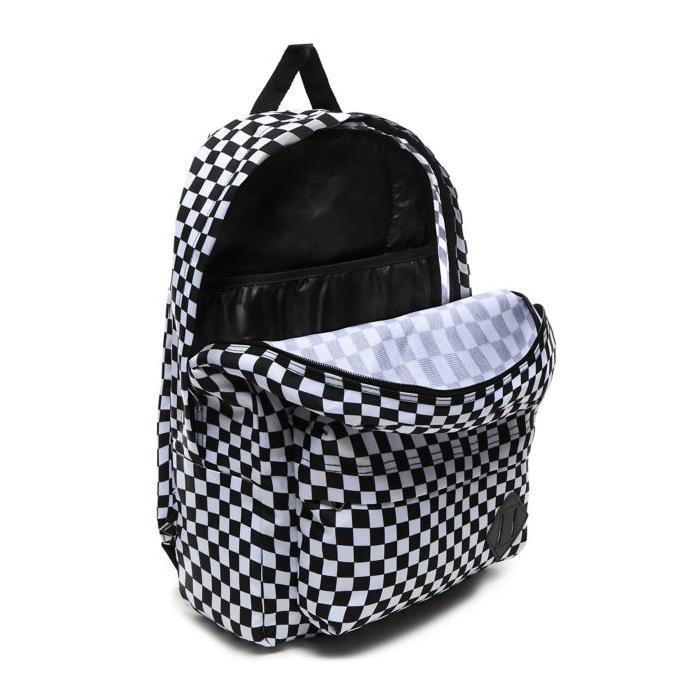 Batoh Vans OLD SKOOL III BACKPACK Black/White Checkerboard