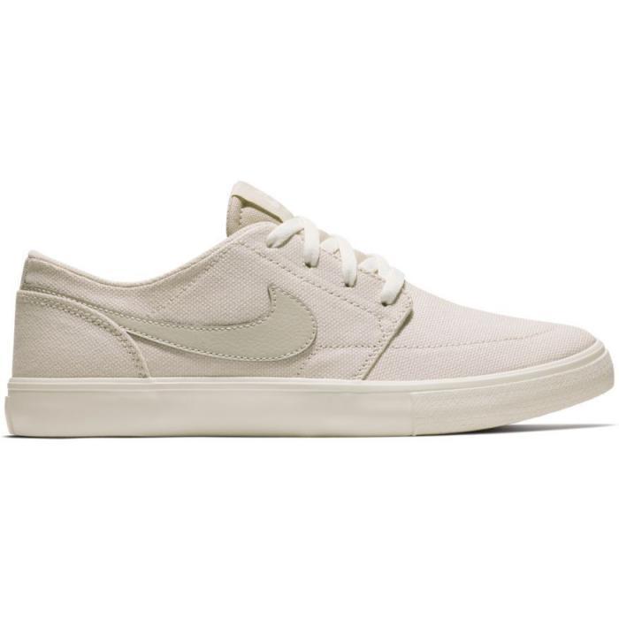Boty Nike SB WMNS SB PORTMORE II SLR C desert sand/desert sand-ivory-white