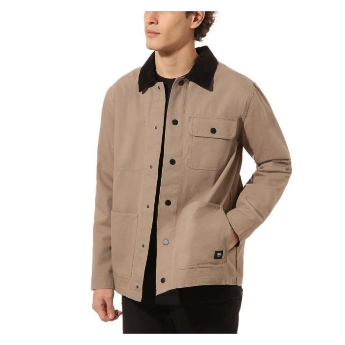 Zimní bunda Vans DRILL CHORE COAT MILITARY KHAKI