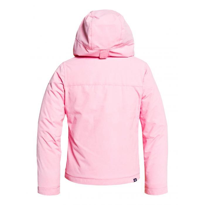 Zimní bunda Roxy JETTY SOLID GIRL JK PRISM PINK