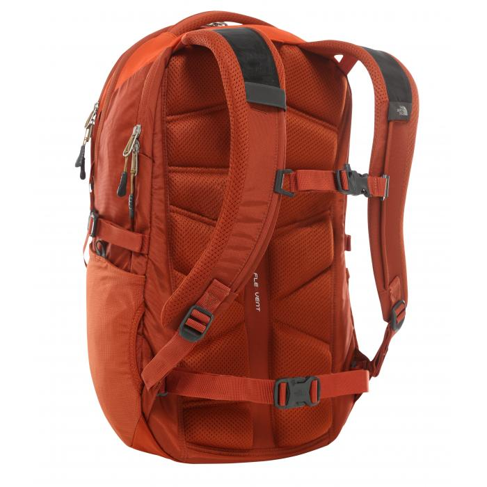 Batoh The North Face BOREALIS PAPAYA ORANGE/PICANTE RED