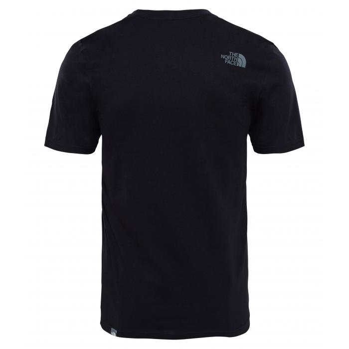 Tričko The North Face S/S EASY TEE TNF BLACK