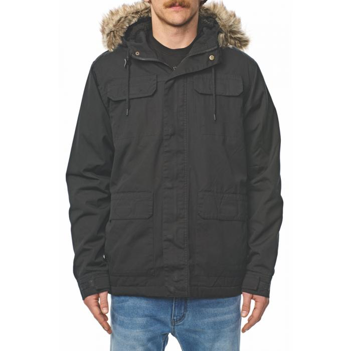 Zimní bunda Globe Goodstock Thermal Parka Jacket Black
