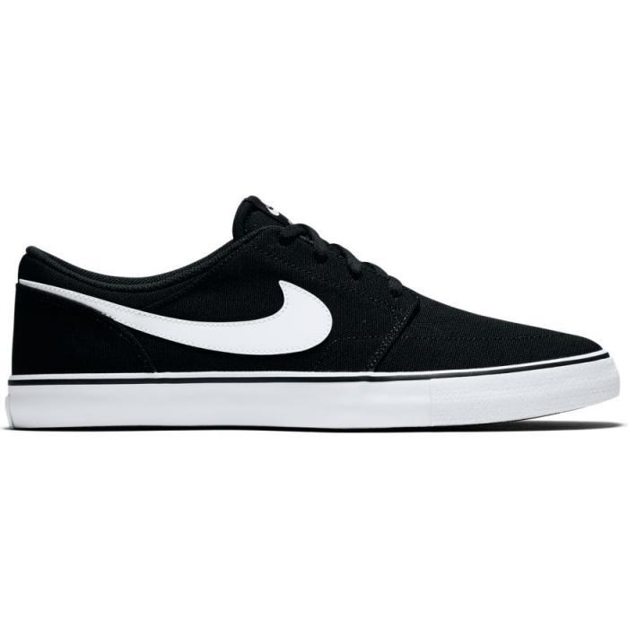 Boty Nike SB PORTMORE II SOLAR CNVS black/white