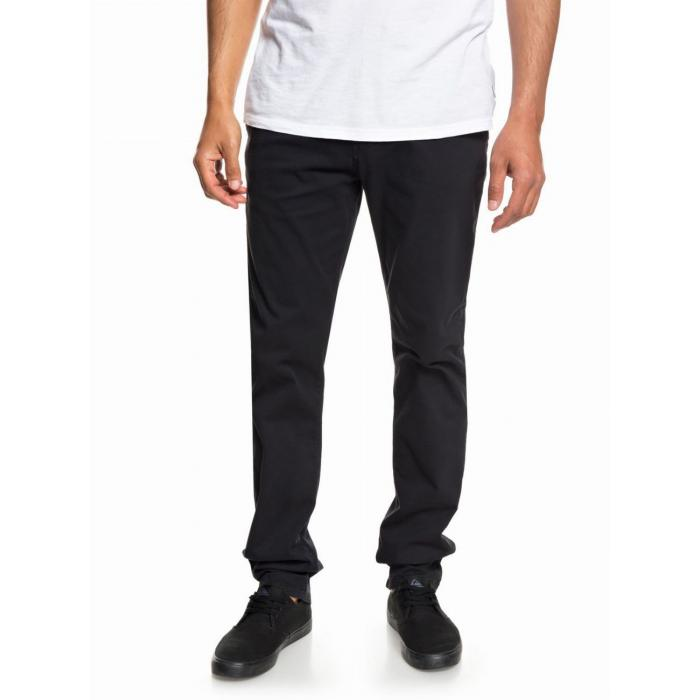 Kalhoty Quiksilver KRANDY STRAIGHT BLACK