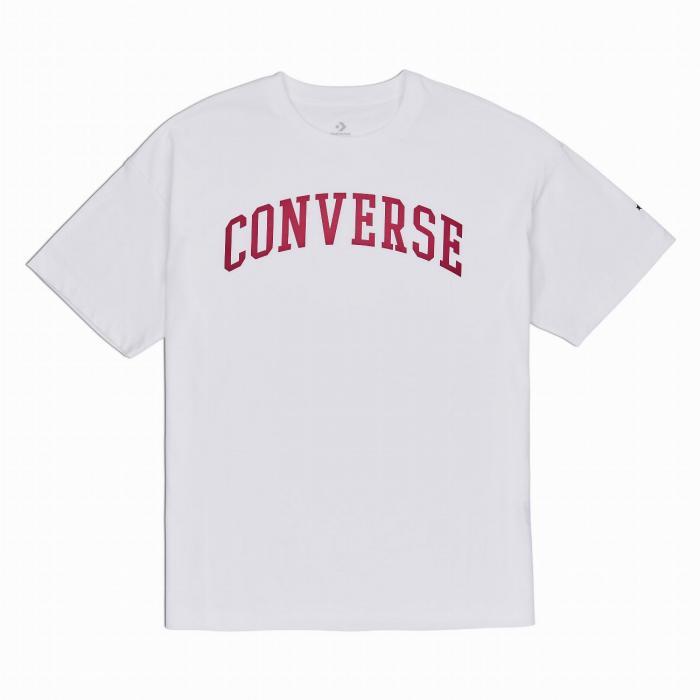 Tričko Converse Icon Remix OS Boxy Tee WHITE