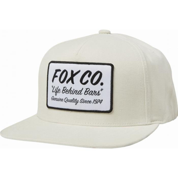 Kšiltovka Fox Resin Snapback Hat Bone
