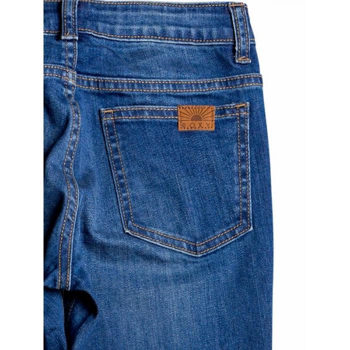 Kalhoty Roxy STRONG SPIRIT MEDIUM BLUE