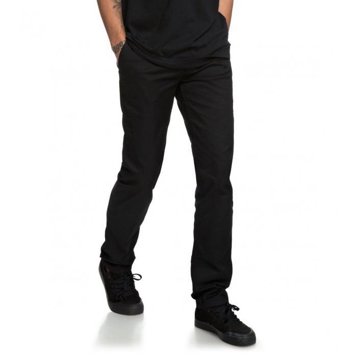 Kalhoty DC WORKER SLIM BLACK