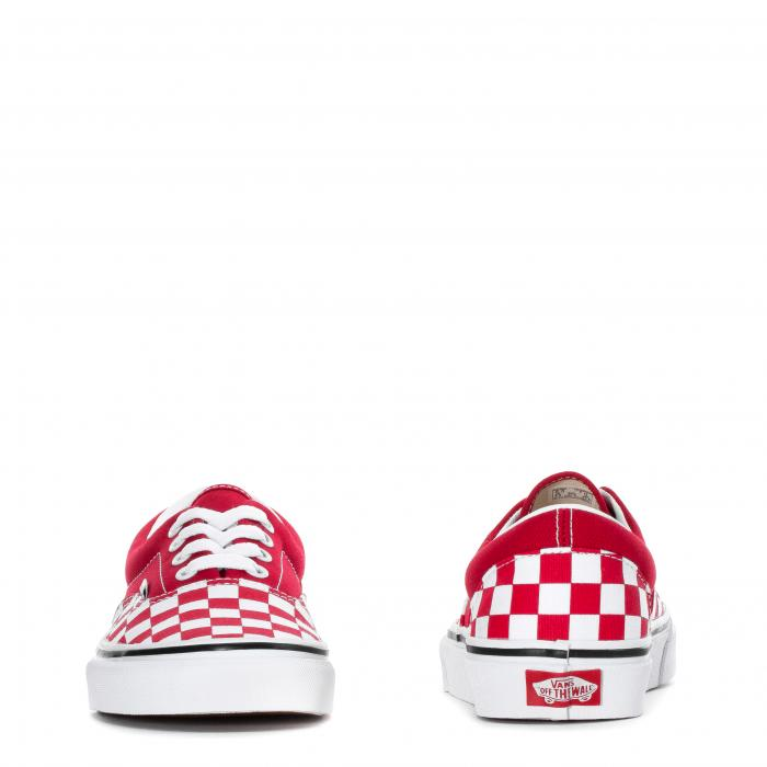 Boty Vans Era CHECKERBOARD RACING RED