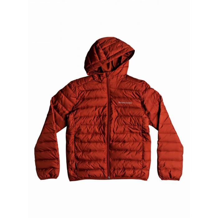 Zimní bunda Quiksilver SCALY YOUTH BARN RED