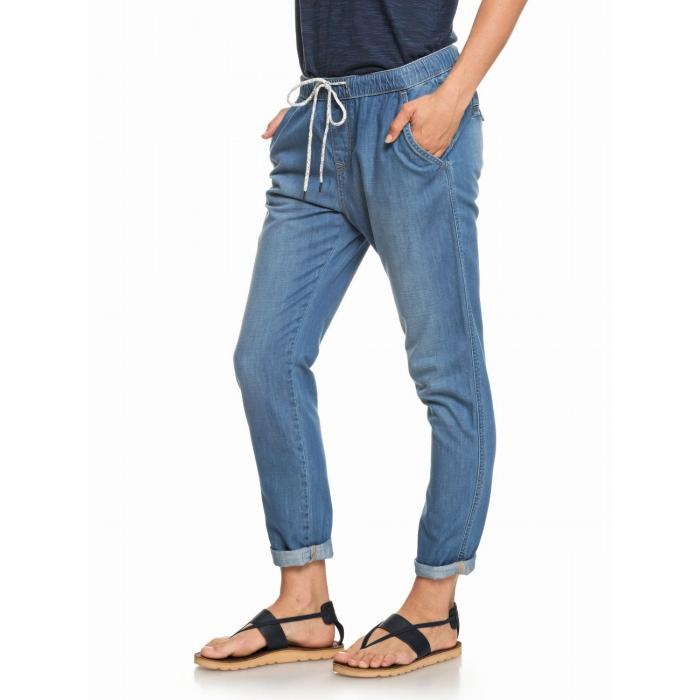 Rifle Roxy BEACHY DENIM PANT MEDIUM BLUE
