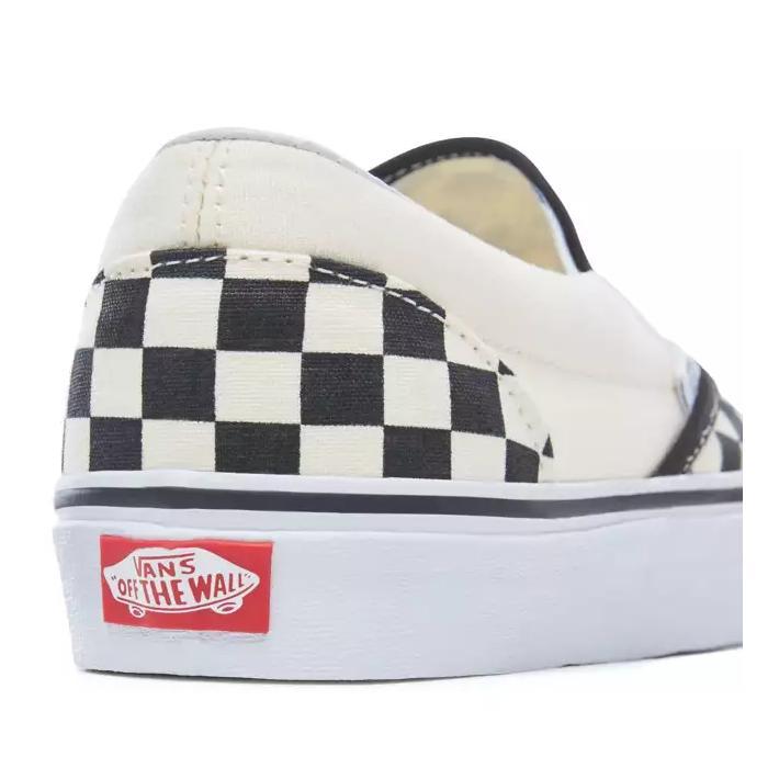 Boty Vans Classic slip-on black and white checker white