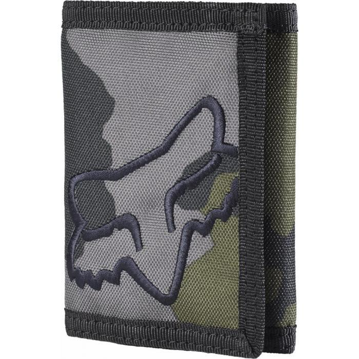 Peněženka Fox Mr. Clean Velcro Wallet Grey Camo
