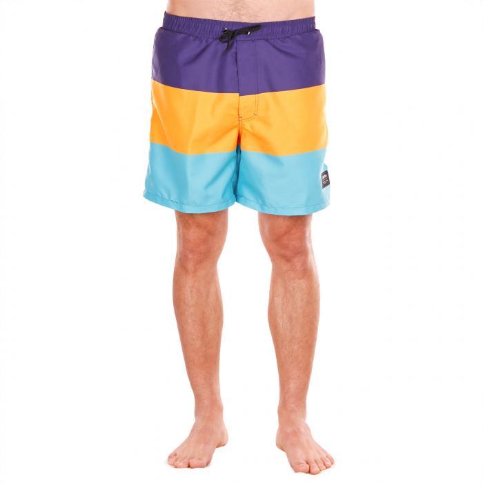 Koupací šortky Funstorm Glassy blue