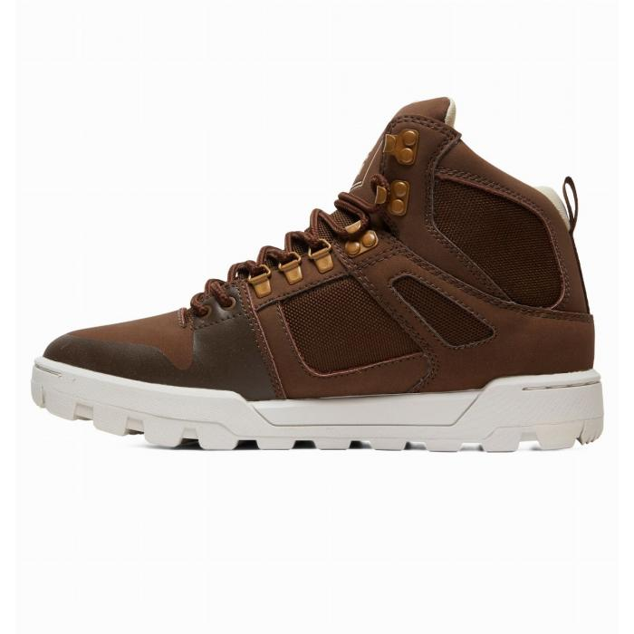 Boty DC PURE HIGH TOP WR BOOT BROWN